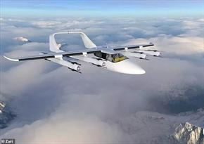 اولین هواپیمای بدون خلبان ساخته میشود